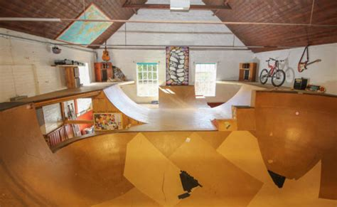 house  homemade indoor skatepark    sale