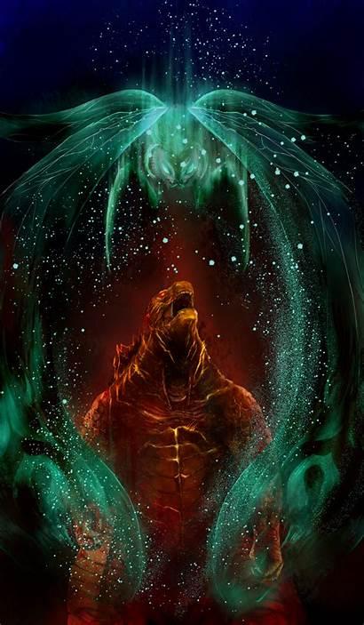 Godzilla Series Mothra Fanart King Monsters Anime
