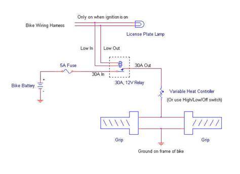 Honda St1300 Wiring Diagram by Honda St1300 Oem Heated Grips