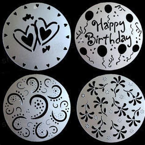 Cetakan Salju Frozen Stencil jual cetakan hiasan kue cake mold printing decorative kado