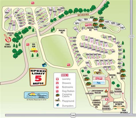 Fredericksburg, Texas Rv Camping Sites  Fredericksburg