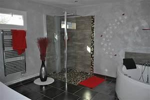 impressionnant photos decoration salle de bain moderne With salle de bain design avec décoration de salle à manger moderne