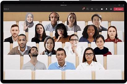 Microsoft Together Mode Teams Meetings Pandemic Era