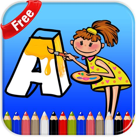 abc coloring pages  kids app httptheappmediacom