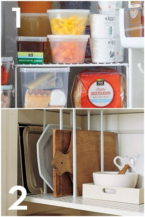 organization for kitchen 10 awesome kitchen hacks and ideas 187 curbly diy design 1237