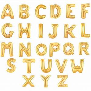 online buy wholesale gold letter balloons from china gold With wholesale letter balloons