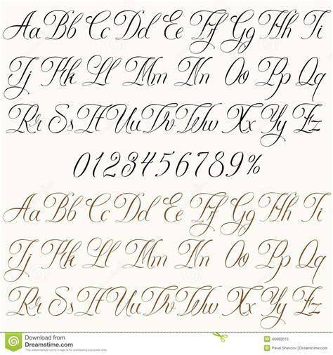 corsivo inglese cerca con lettering font numeri corsivo cerca con scritte 72719