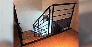 Garde Corp Escalier : escalier et garde corps villac peinture ~ Dallasstarsshop.com Idées de Décoration