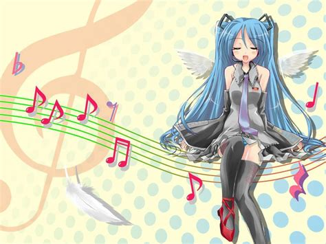Anime Art Music Anime Music Hd Wallpaper Background Images