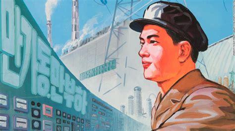 north korean propaganda posters reveal cnn style