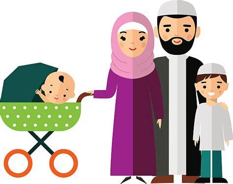 Cartoon Of A Arab Love Clip Art, Vector Images