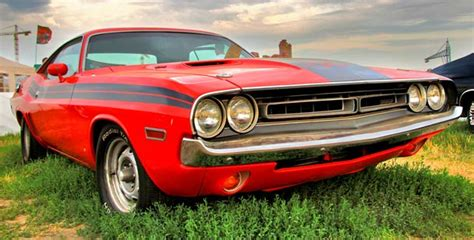 25 Top Classic American Muscle Cars