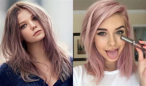 Pale Hair Colours by Enchanting Pastel Hair Colors For Chilly Fall Weather