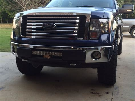 led light bar and bumper pads ford f150 forum