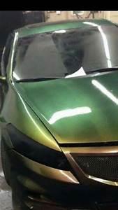 Green Gold Bronze Chameleon Paint