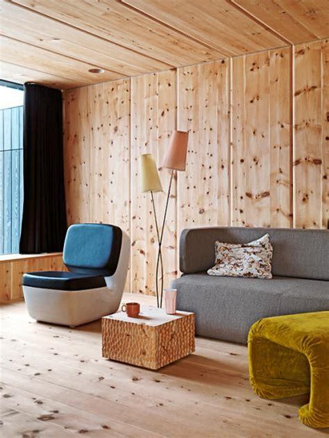 Architektenhäuser Holzvertäfelte Wand  Bild 5 [schÖner