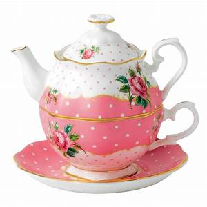 Tea For One Set : royal albert cheeky pink tea for one royal albert australia ~ Orissabook.com Haus und Dekorationen