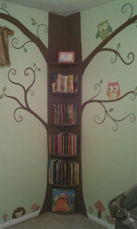 fascinating tree bookshelf arrangements tree