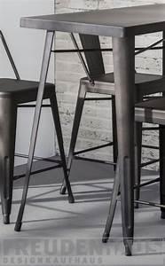Barhocker Mit Tisch : set bartisch mit vier barhocker metall grau tisch grau metall tisch h he 92 cm ~ Whattoseeinmadrid.com Haus und Dekorationen