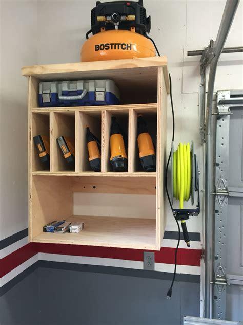 air compressor cabinet storage garage tool storage