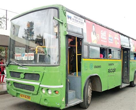 bmtc  purchase  swanky buses  march   indian express
