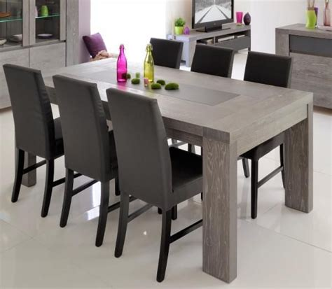 extending grey oak  glass dining table grey dining