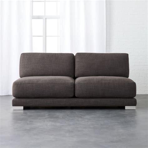 Modern Armless Loveseat by Modern Armless Sofas Cb2