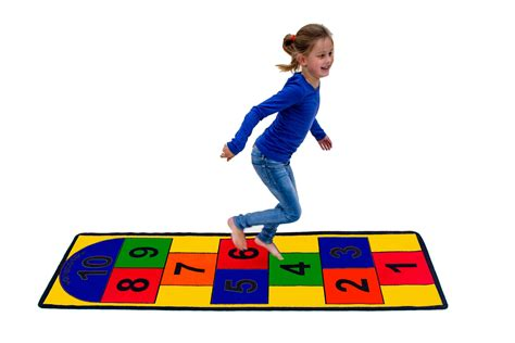 Stain Proof Carpets by Amazon Com Hopscotch Play Carpets Toys Amp Games