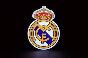 Escudo Real Madrid Iluminado Decorativo - $ 1,330.00 en ...  Real