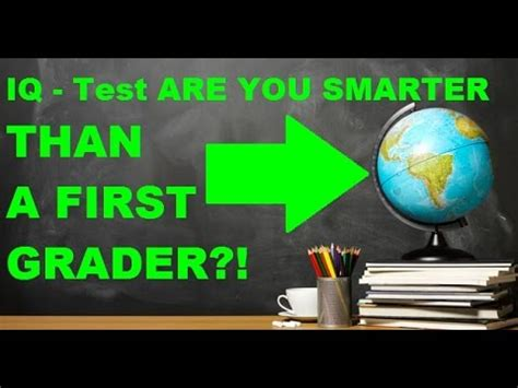 Are You Smarter Than A First Grader?! 90% Will Fail! Youtube
