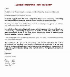 Nursing Sample Cover Letters 11 Scholarship Thank You Letter Sample For Doc Pdf