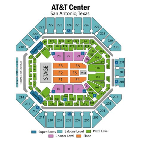 att center  maps  seating chart ticket brokershtml autos weblog