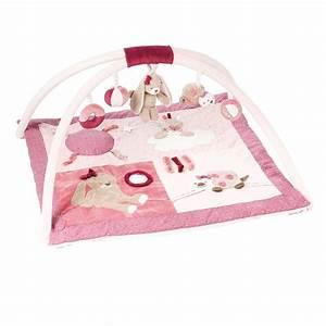 nina jade lili tapis d39eveil avec arches rose de nattou With tapis chambre bébé avec bon plan livraison de fleurs