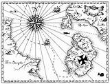 Treasure Coloring Map Pirate Pages Maps Printable Within A4 Play Getcoloringpages Related Getdrawings Coloringhome sketch template