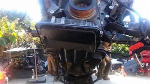 Bmw 540i 740il Engine Lower Oil Pan Gasket Removal E38 E39