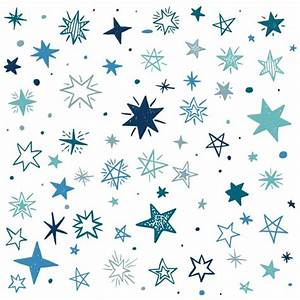 Blue stars on a white background Vector | Free Download