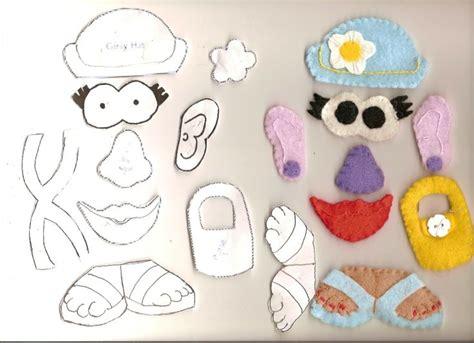 mr potato felt template felt mr potato pattern search book ideas search felt and