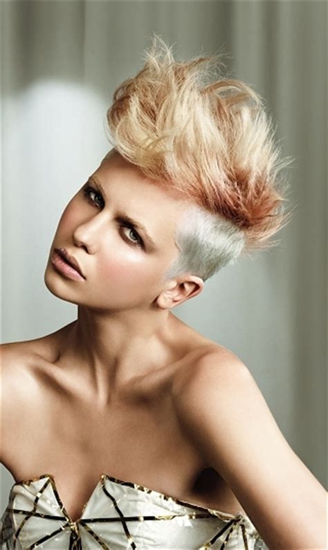 short mohawk hairstyles  haircuts hairstyles  hair colors