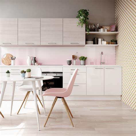 cuisine couleur pastel quelles couleurs associer dans une cuisine blanche