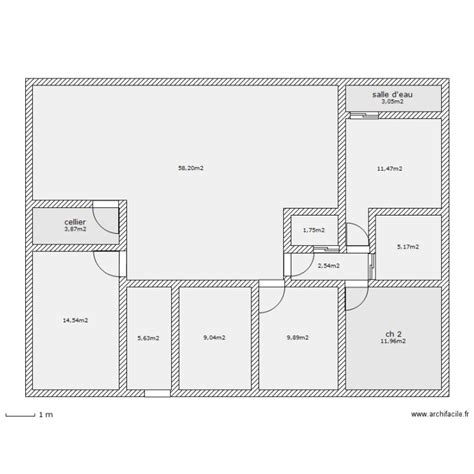 plan maison 150m2 4 chambres plan de maison plain pied 130 m2