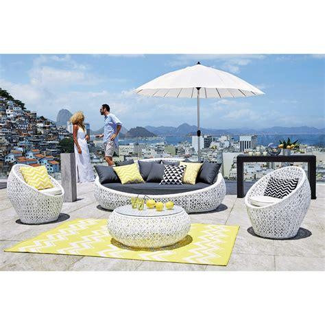 Outdoor Teppich Gelb by Outdoor Teppich Aus Kunststoff 160x230 Gelb Lataia