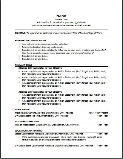 functional resume format example functional resume resume templates site