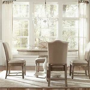 Coventry round oval dining room set riverside for Riverside dining room sets