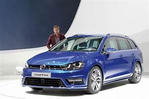 Golf 7 R Line : volkswagen cars news mk7 golf wagon r line concept ~ Medecine-chirurgie-esthetiques.com Avis de Voitures