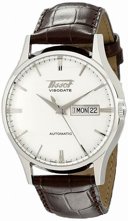 Tissot Visodate Watches Automatic Heritage Under Leather
