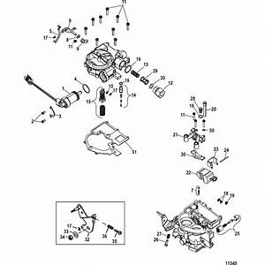 genuine mercury mercruiser parts carburetor With 0w302000 thru 1a0019999 power steering pump assembly diagram and parts