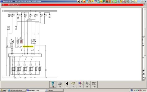 req a wiring diagram for renault laguna with possible faults for interior light