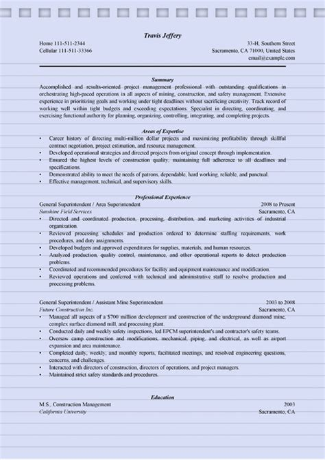 How To Show Inactive Cpa On Resume by 4 Superintendent Resume Sle Ms Word Doc Format