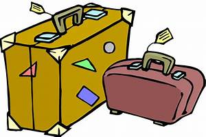 Packing Suitcase Clipart - Clipart Suggest
