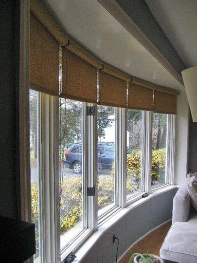 window covering ideas   large bow window window